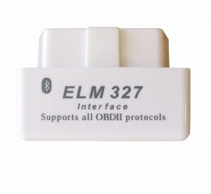 ELM327 V2.1 White Bluetooth