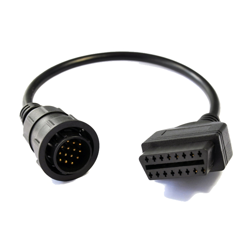 Mercedes benz 14 pin obd cable pre obdii adapter for Mercedes benz computer diagnostic tool