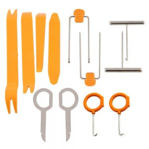 12 Piece Car Panel, Trim, Dash and Radio Removal Pry Tool Kit
